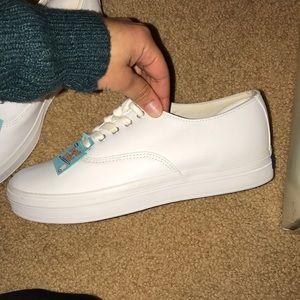 81139f1203d Keds Shoes - Original white leather platform keds